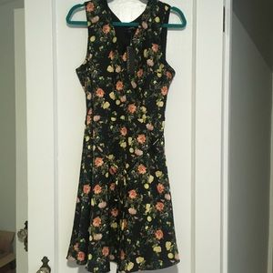 gorgeous floral banana republic dress